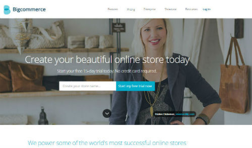 Bigcommerce - most popular hosted ecommerce software